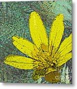 Magic Fern Flower 02 Metal Print