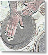Magic Hands Metal Print
