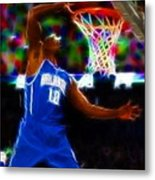Magical Dwight Howard Metal Print by Paul Van Scott