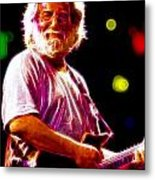Magical Jerry Garcia Metal Print