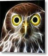 Magical Owl Metal Print