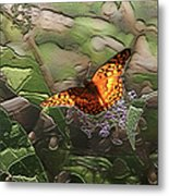 Magical Places For Butterflies Metal Print