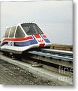 Magnetic Levitation Train Metal Print