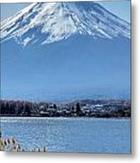 Magnificent Mt Fuji Metal Print