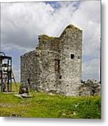 Magpie Mine - Sheldon In Derbyshire Metal Print