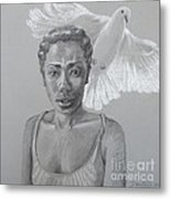 Maiden Peace Metal Print by Kathryn Donatelli
