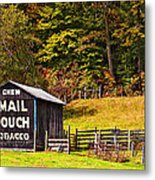 Mail Pouch Tobacco Barn Metal Print
