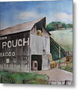 Mailpouch Metal Print