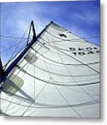 Main Sail Metal Print