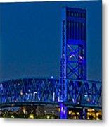 Main Street Bridge Jacksonville Metal Print