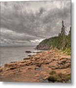 Maine Coastline. Acadia National Park Metal Print