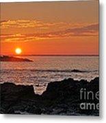 Maine Sunrise Metal Print