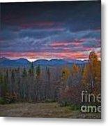 Moosehead Sunset Metal Print
