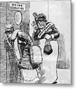 Maine: Womens Suffrage Metal Print