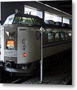 Maizuru Electric Train - Kyoto Japan Metal Print