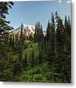 Majestic Rainier Metal Print