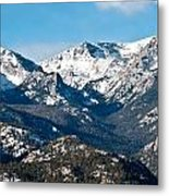 Majestic Rockies Metal Print