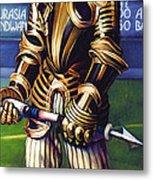 Major League Gladiator Metal Print