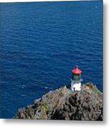 Makapu'u Lighthouse Metal Print