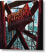 Make Sure You Are On The Right Side Of Heaven's Gate Metal Print