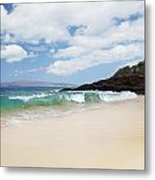 Makena Coast Metal Print