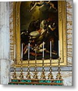 Malachite And Lapis Lazuli Altar Metal Print