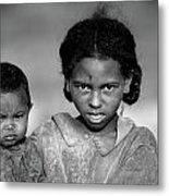 Malagasy Children Metal Print