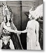 Male And Female, 1919 Metal Print