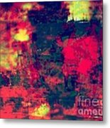 Mali In Abstract Mode Metal Print