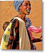 Malian Beauty Metal Print