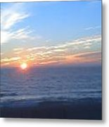 Malibu Color Metal Print