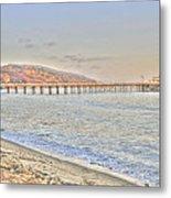 Malibu Pier North Metal Print