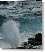 Maliko Point Maui Hawaii Metal Print
