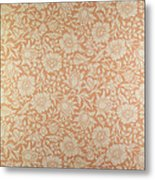 Mallow Wallpaper Design Metal Print