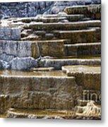 Mammoth Hot Springs Metal Print