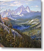 Mammoth Lakes In The High Sierras Metal Print