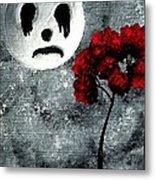 Man In The Moon Metal Print