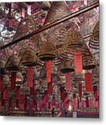 Man Mo Temple Metal Print