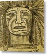 Man Of Wisdom - D Metal Print