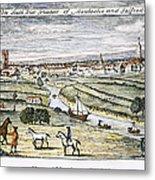 Manchester, England, 1740 Metal Print