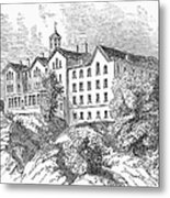 Manhattan College, 1868 Metal Print