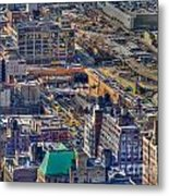 Manhattan Lincoln Tunnel Entrance Metal Print