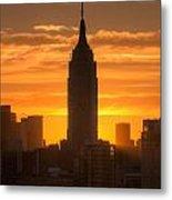 Manhattan Sunrise II Metal Print