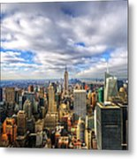 Manhattan05 Metal Print by Svetlana Sewell