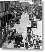 Manilla - Philippine Islands - Escolta Street Scene - C 1901 Metal Print
