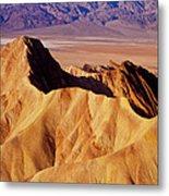 Manley Beacon Death Valley Metal Print