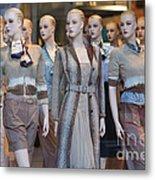 Mannequins I Metal Print