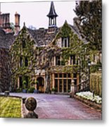 Manor House At Castle Combe  Metal Print
