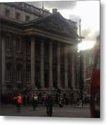 Mansion House City Of London Metal Print