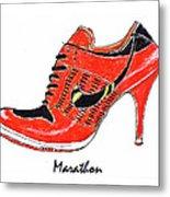 Marathon Metal Print by Lynn Blake-John